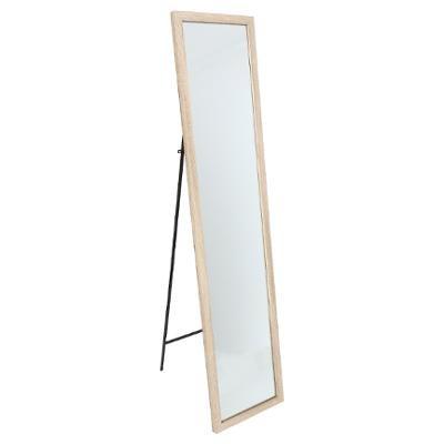 Miroir sur pied, Bois, 155 x 35 cm