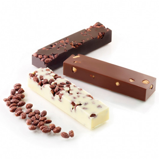 Moule Silicone Choco Snack, Silikomart