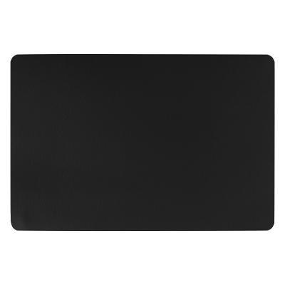 Set de table effet cuir, noir, 45x30