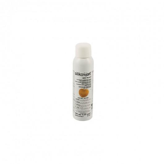 Spray alimentaire, effet velours or, 150 ml, Décoration gâteaux - Silikomart