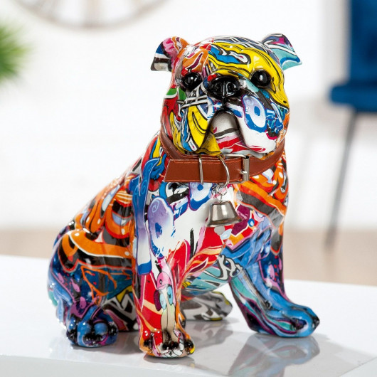 Statue Bulldog