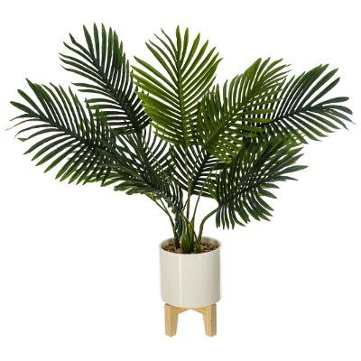 Palmier & pot en céramique
