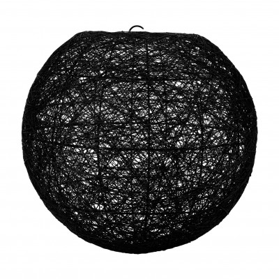 Suspension boule noire D20