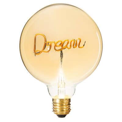 Ampoule Led Décorative Dream, 2W, D 12,5 cm