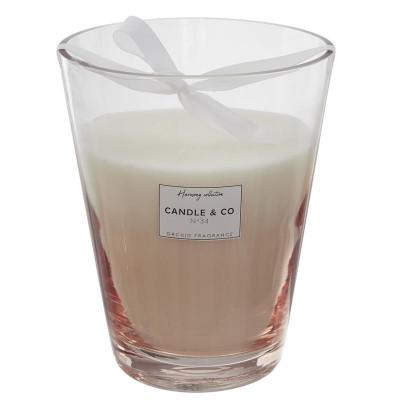 Bougie parfumée, Vase Beige Harmony H 23 cm