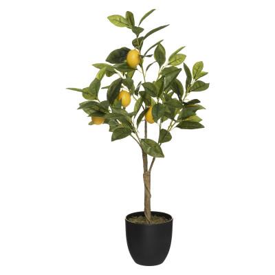Citronnier, Plante artificielle, H 70 cm