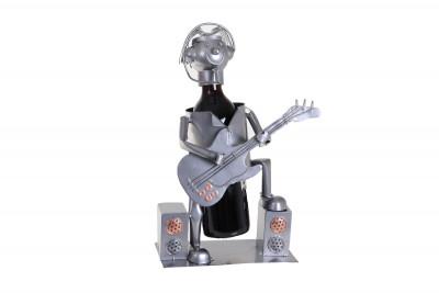 Porte-bouteille guitariste