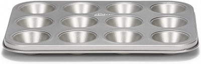 Plaque à mini muffin Silver-Top 12pcs, Patisse