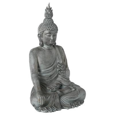 Statue Bouddha assis intérieur - extérieur H 106 cm