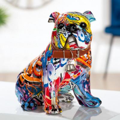 "Statue Bulldog ""Pop Art"""