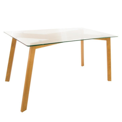 Table imitation chêne TAHO