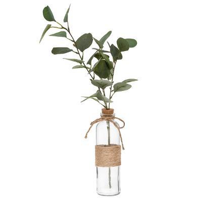 "Vase & Eucalyptus ""corde"" 45cm"